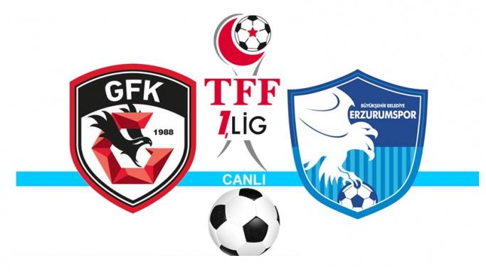 1. Lig play-off'unda finalin adı: Erzurumspor ve Gazişehir Gaziantep