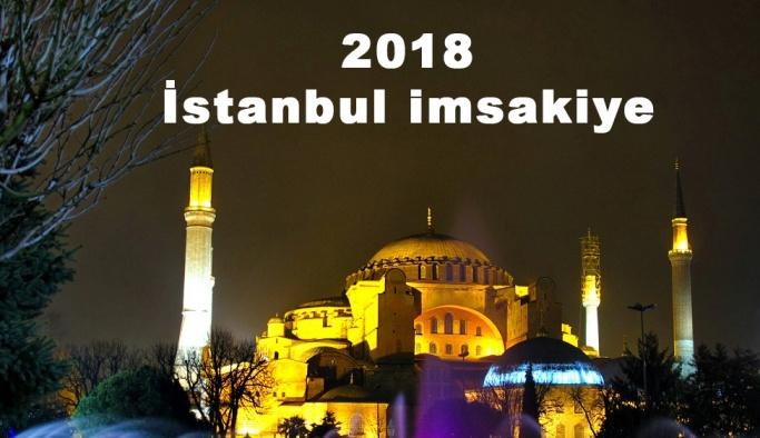 2018 İstanbul imsakiye sahur ve iftar vakti! Sabah ve Akşam ezanı saati...