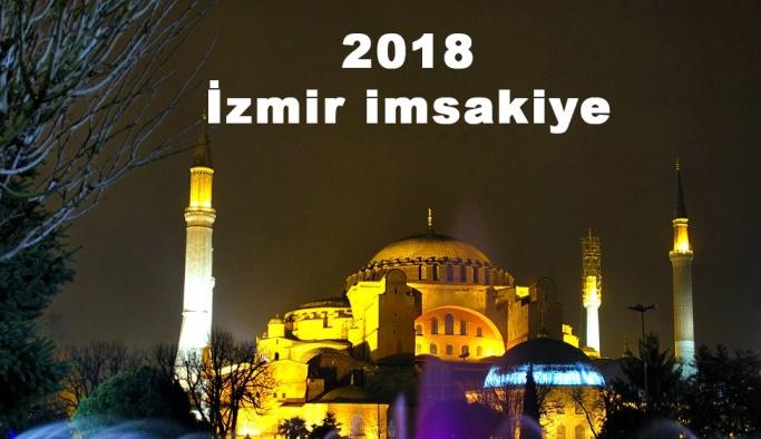 2018 İzmir imsakiye sahur ve iftar vakti! Sabah ve Akşam ezanı saati...