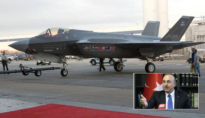 ABD'ye F-35 savaş uçağı resti