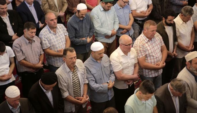 Bosna Hersek'te Filistinli şehitler için gıyabi cenaze namazı