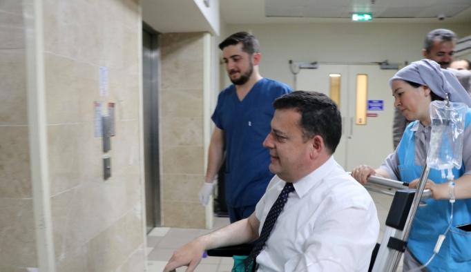 CHP milletvekilleri trafik kazası geçirdi