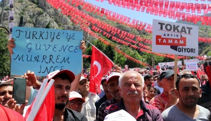 CHP'nin cumhurbaşkanı adayı İnce Amasya'da