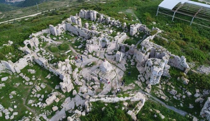 Doğu Akdeniz turizmin gözdesi:  St. Simon Manastırı