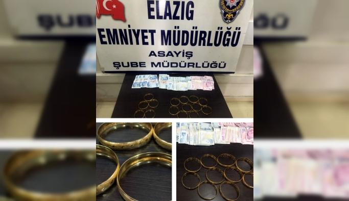 Elazığ'da sahte altın dolandırıcılığı iddiası