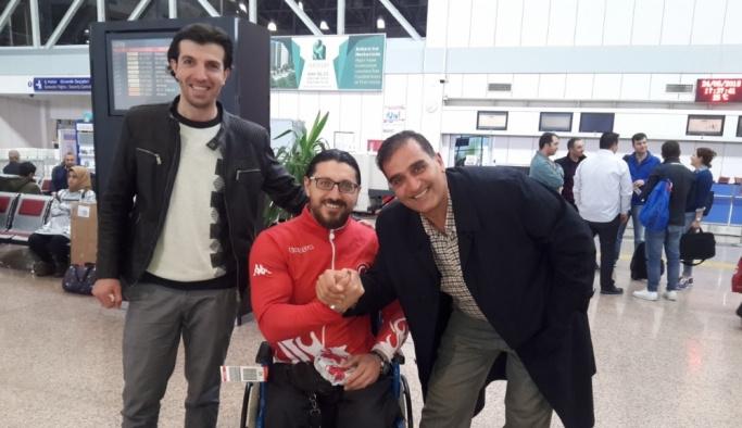 Engelli sporcu Gökhan Seven, Avrupa'nın bileğini bükecek