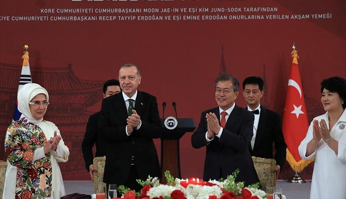 Erdoğan'dan Kore'de Kanal İstanbul açıklaması