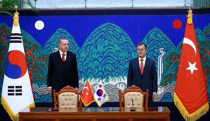 Erdoğan-Moon görüşmesi sonrası açıklama