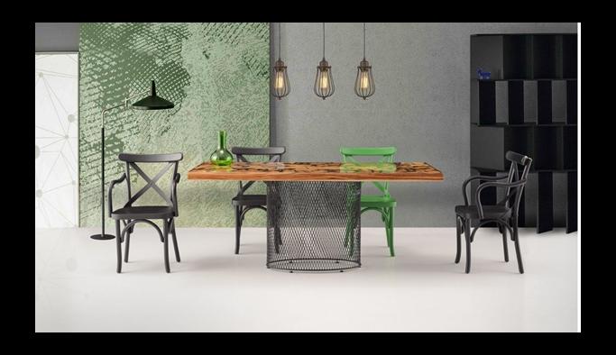 En trend mutfak masası modelleri