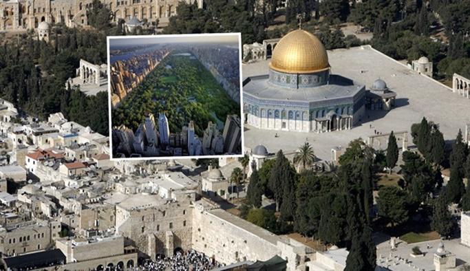 İsrail, Central Park'ın 33 katı kadar ağaç katletti