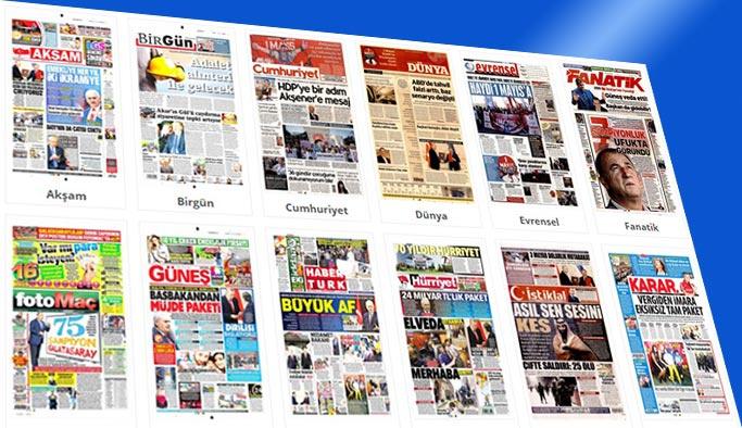 Gazete manşetleri - 1 Mayıs 2018