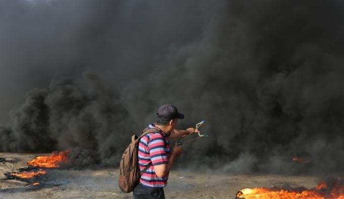 """Gazze'deki """"Büyük Dönüş Yürüyüşü""""nde dokuzuncu cuma"""
