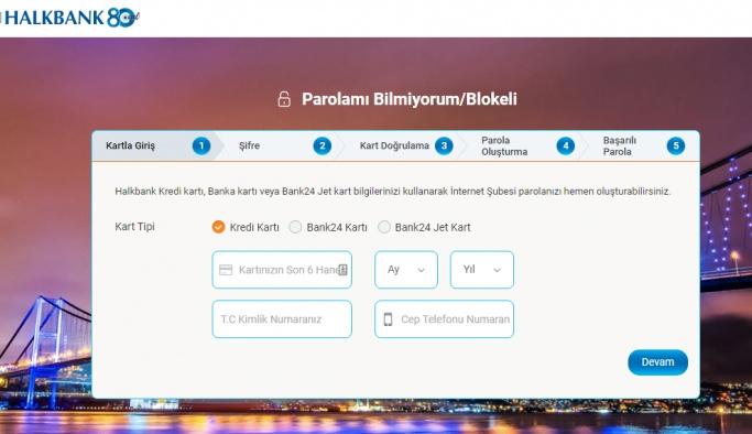 Halkbank internet şubesi bankacılık işlemler nasıl yapılır?