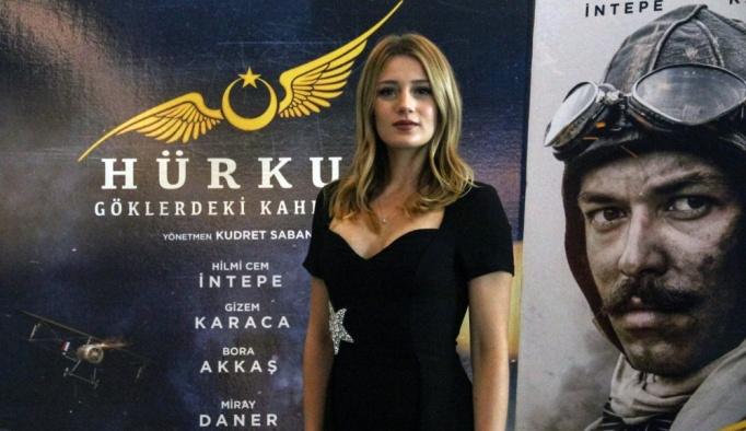 """""""Hürkuş: Göklerdeki Kahraman"""" filminin galası yapıldı"""