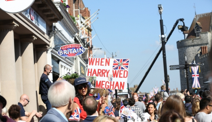İngiltere'de kraliyet düğünü: Harry ile Meghan evlendi