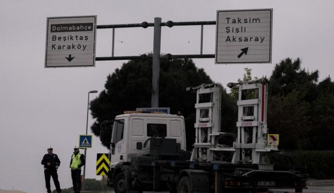 Taksim'de bütün çıkışlar kapatıldı