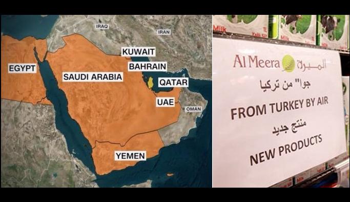 Katar'dan 4 ülke ürünlerine boykot
