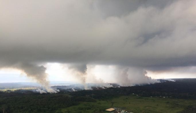 Kilauea Yanardağı'nda yeni bir patlama