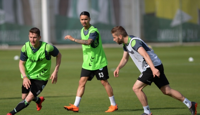Konyaspor'da Kardemir Karabükspor maçı hazırlıkları