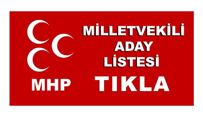 MHP'nin milletvekili adayları belli oldu - MHP 27. dönem milletvekili adayları - 24 Haziran seçimleri