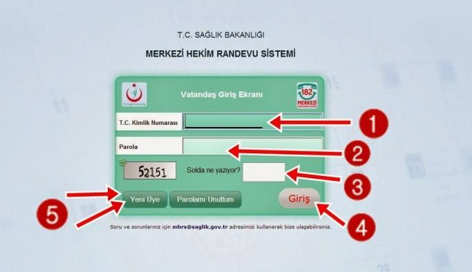 MHRS randevusu nasıl alınır? MHRS Online randevu