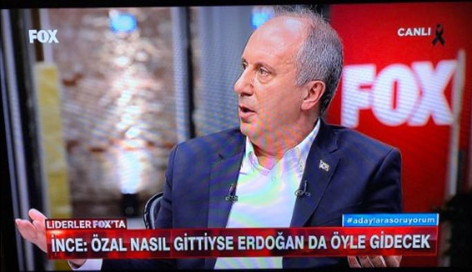 Özal nasıl gittiyse, Erdoğan da öyle gidecek