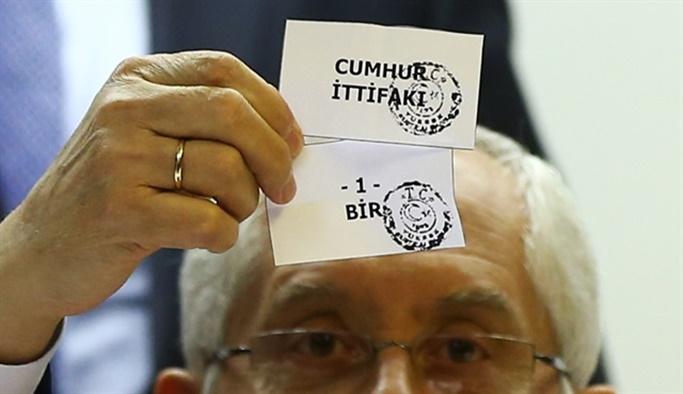 YSK oy pusulasındaki parti sıralamalarını belirledi