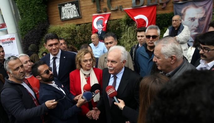 Perinçek, Cumhurbaşkanlığı adaylığı için imza attı