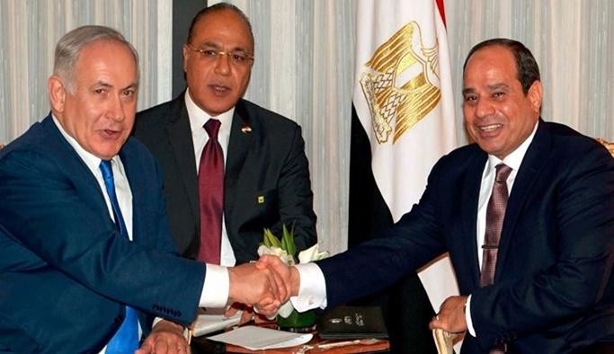 Sisi: Filistin ve İsrail barış görüşmelerine başlasın