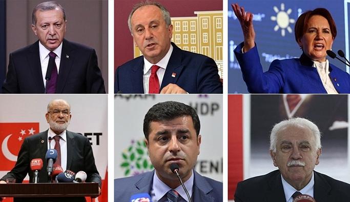 Son Seçim Anketi - Hangi Part Yüzde Kaç Oy Alıyor?