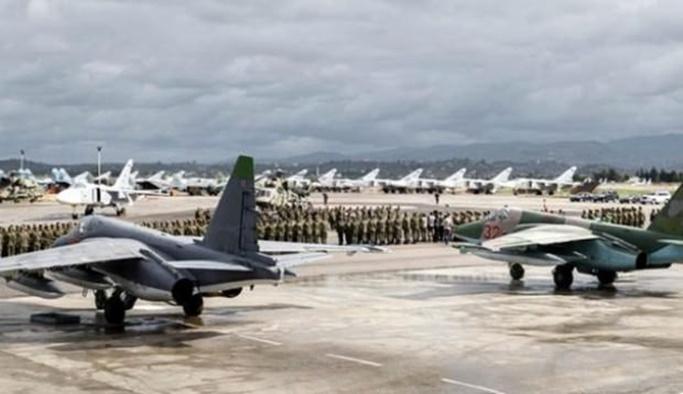 Suriye'deki Rus üssüne drone ile saldırı