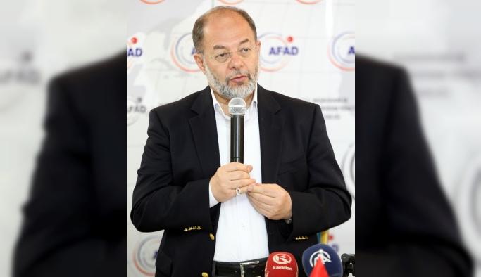 """""""Suriyeli sığınmacılar konusunda en büyük yükü AFAD üstlendi"""""""