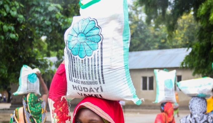 Tanzanya'da Hüdayi Vakfı'ndan ramazan yardımı