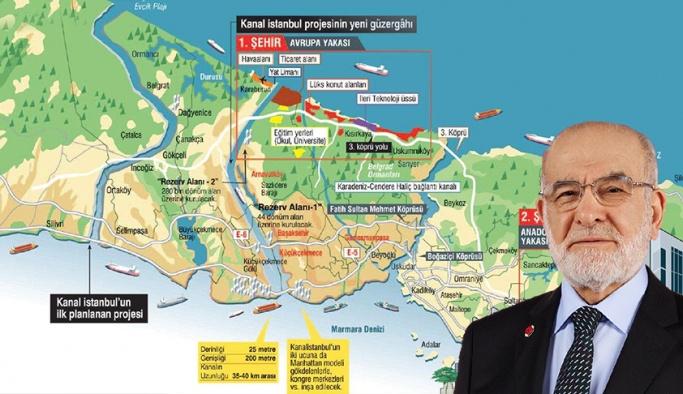 Temel Karamollaoğlu, Çanakkale Köprüsü ve Kanal İstanbul'na karşı