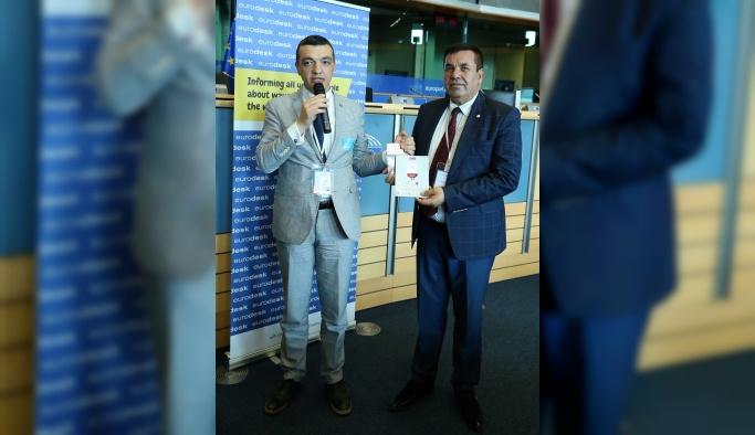 Türk Kızılayı projesi Eurodesk ödülü aldı