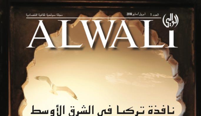 Türkiye'yi tercih edecek Arap turistlere özel dergi
