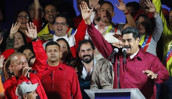Venezuela seçimlerinde zafer Maduro'nun