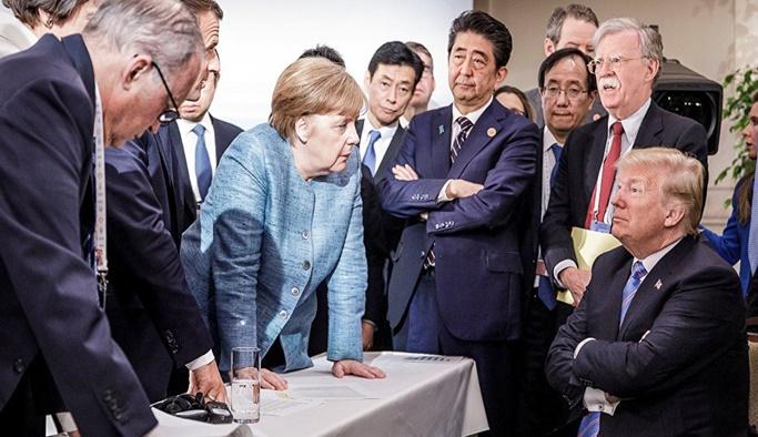 ABD Başkanı Trump'tan fotoğrafa ilk yorum