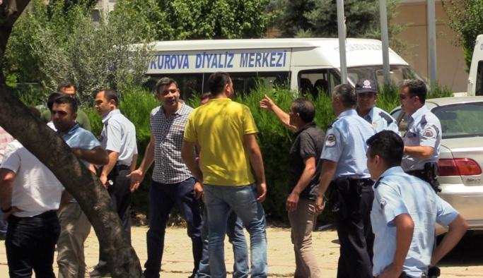 """Adana'da """"güzergah"""" kavgası: 2 yaralı"""