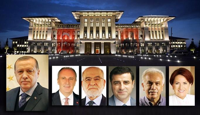 Adaylarının TRT'deki konuşma sıraları belirlendi