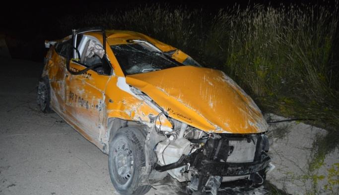 Afyonkarahisar'da trafik kazası: 2 yaralı