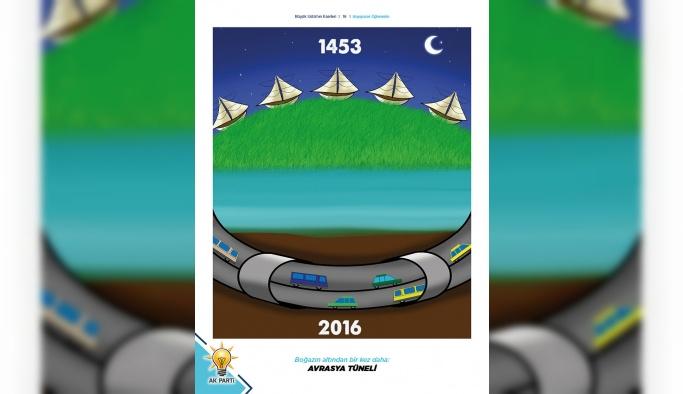 AK Parti yatırımları, çocuklara boyama kitabıyla anlatıldı