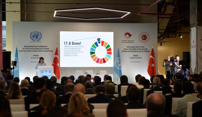 BM En Az Gelişmiş Ülkeler İçin Teknoloji Bankası Açılış Töreni