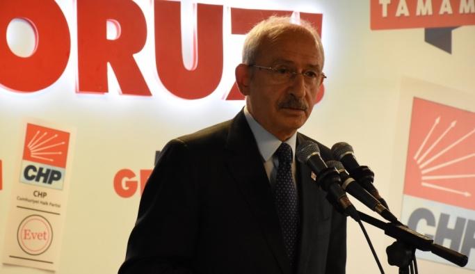 CHP Genel Başkanı Kılıçdaroğlu Ordu'da