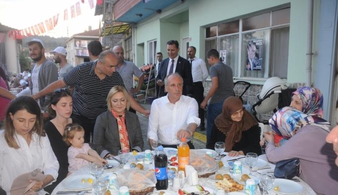 CHP'nin cumhurbaşkanı adayı Muharrem İnce: