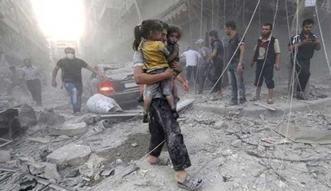 Esed rejimi İdlib'de çocuk hastanesine saldırdı