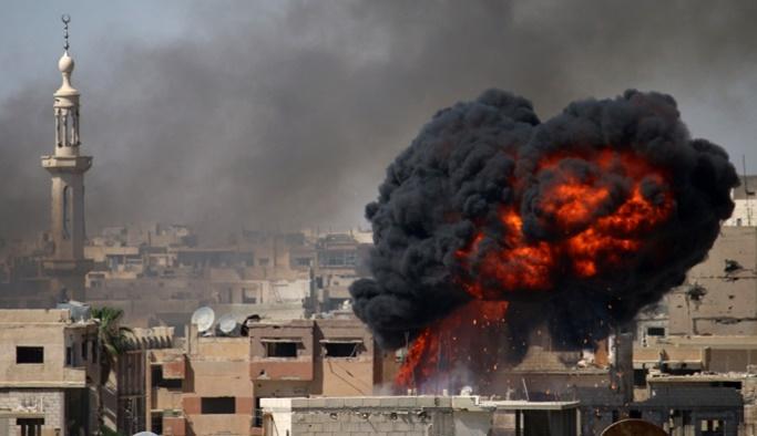 Esed yine Dera'ya saldırdı: 20 sivil öldü