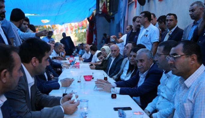 Fakıbaba, milletvekili Yıldız'a taziye ziyaretinde bulundu