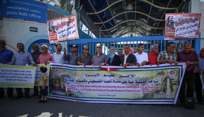 Filistinli Mülteciler Ortak Komitesinden UNRWA'ya çağrı