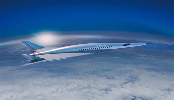 Hipersonik yolcu jetleri geliyor